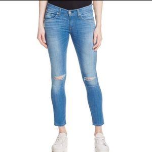 Rag & Bone Capri Cropped Skinny Jeans Size 25